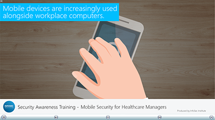 Mobile Security for Healthcare Managers